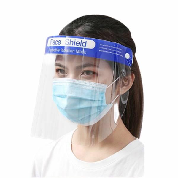 【Face shield】防飛沫噴濺面罩(10入裝) 防疫面罩,全臉防護,防油濺,臉部防護面罩,防飛沫,面罩,抗霧通透,防護面罩