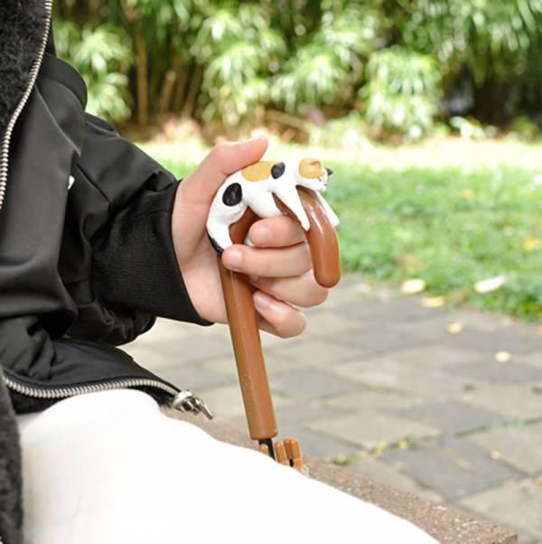 【懶懶貓陪你一起撐傘】日本傘柄套