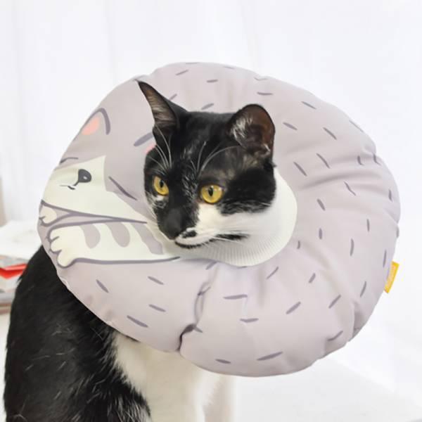 【給貓一個甜甜圈】甜甜圈防舔套