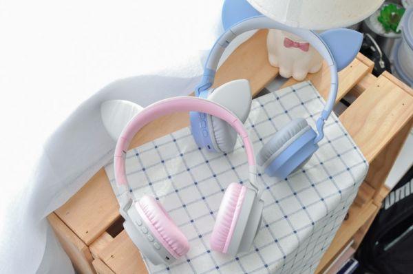 【一起聽喵叫】貓耳耳機