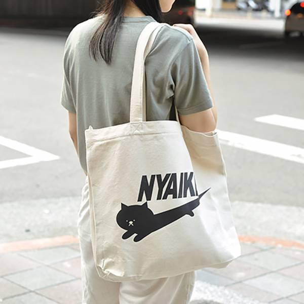 日本進口【質感帆布好喵包】貓品牌側背包