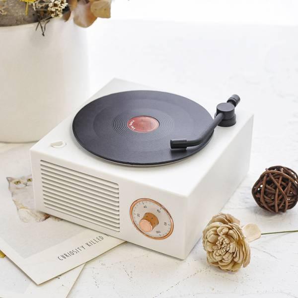 *【點播一首貓奴心情】復古黑膠唱盤音響 藍芽喇叭,復古,膠片機,轉動