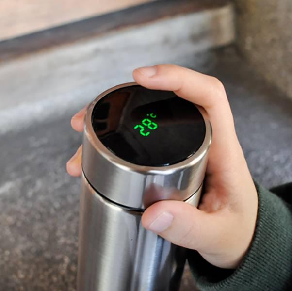 【會顯示溫度的保溫杯】智能保溫瓶 保溫瓶,保暖,貓奴,智能,主子