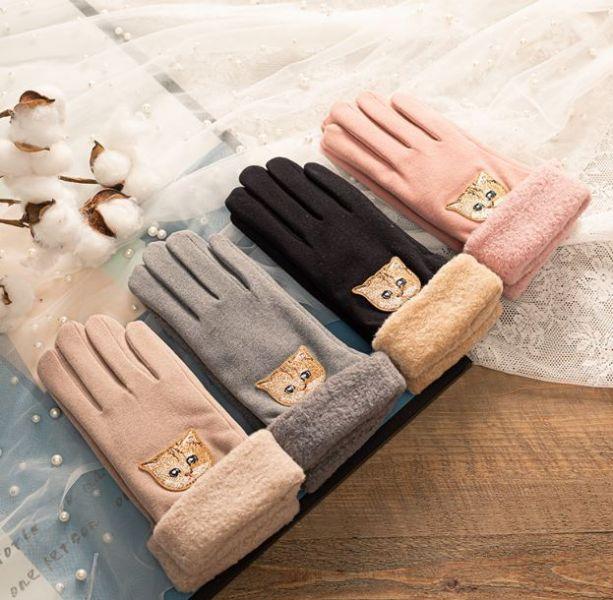 【喵小姐的保暖手套】手套
