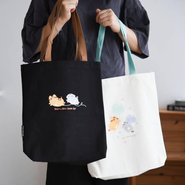 【Kim&Yim金銀喵】帆布袋