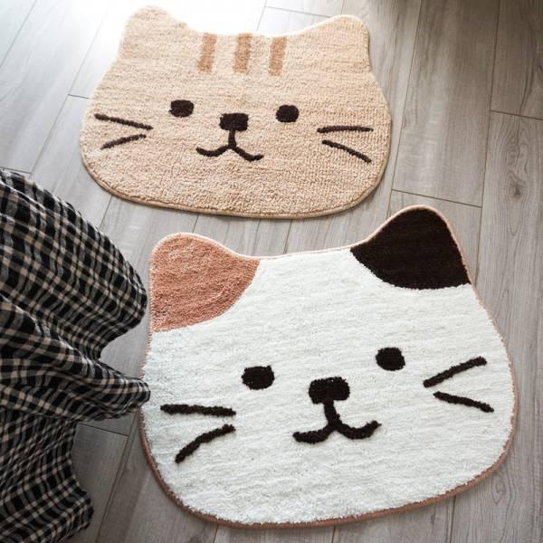 *【地板到處都是貓】貓咪造型地垫
