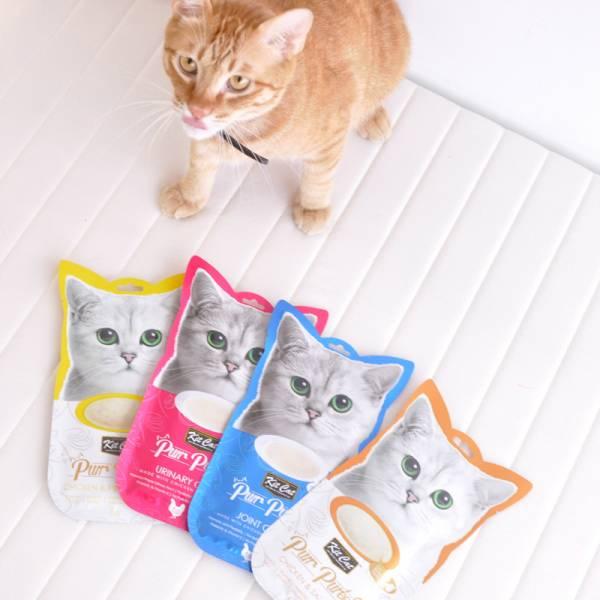 【一包不夠主子吃】KITCAT肉泥 kitcat呼嚕嚕肉泥 15公克/4入