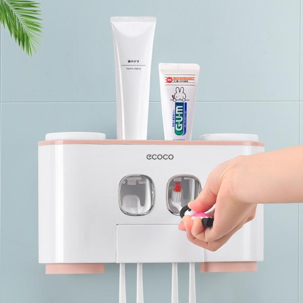 *【輕鬆的刷牙時光】ECOCO牙刷架