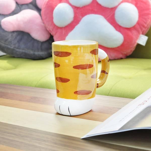 【 貓兒腳丫來一杯】馬克杯 貓掌杯,貓馬克杯,大口徑