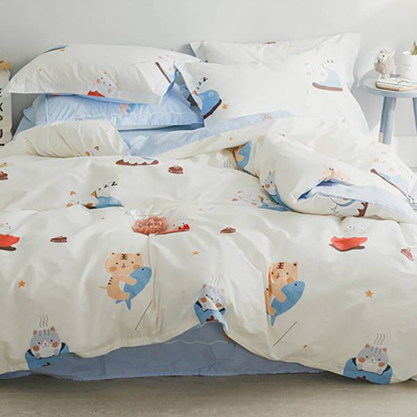 【跟主子睡香香】床包四件組雙人加大-免運