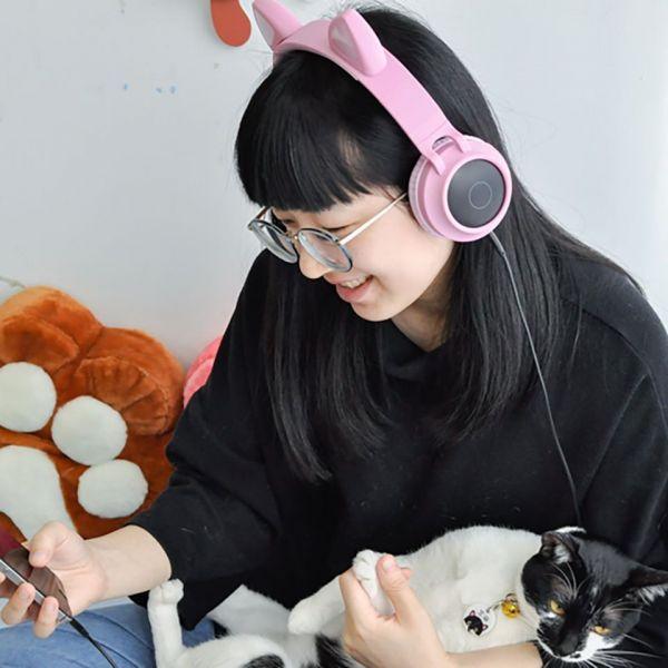 【一起聽喵叫】貓耳藍芽耳機