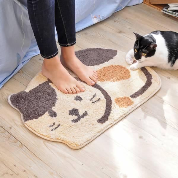 【踩條柔軟喵喵】趴趴貓地墊 地墊,貓咪地墊,寵物地墊,造型地墊,地墊推薦