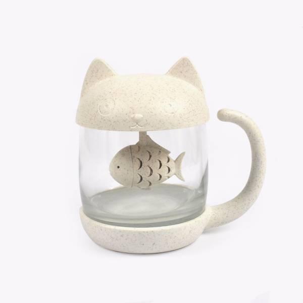 【貓貓小魚一起泡杯茶】濾茶壺 茶壺、泡茶、濾水壺