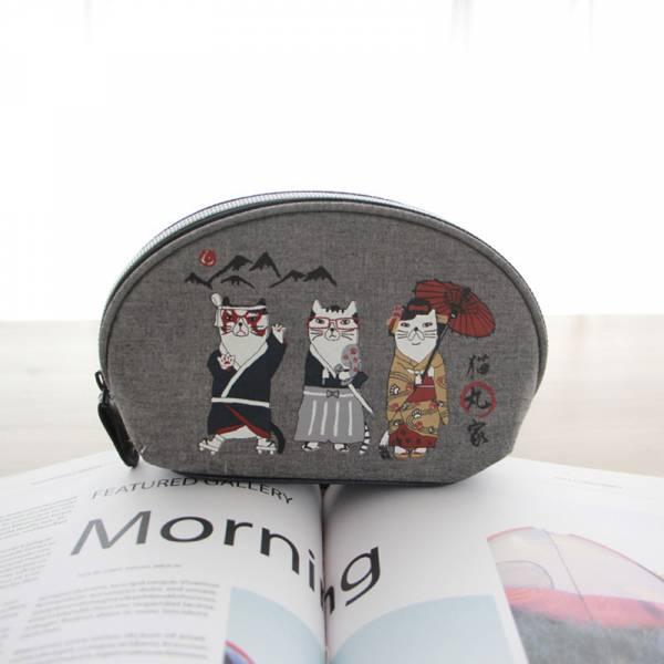 *【貓丸家的隨手包】貓丸家收納包