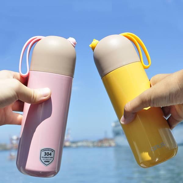 *【貓兒杯杯一輩子】保溫瓶-400ml 保溫杯、外出、攜帶方便