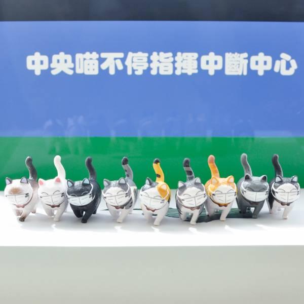 *滿1500免費送9隻【超前部署的貓咪們】超萌N95口罩鈴鐺貓公仔