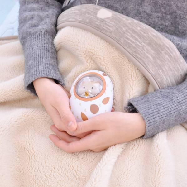 【暖一下太空鼠王】倉鼠兩用暖手寶充電寶