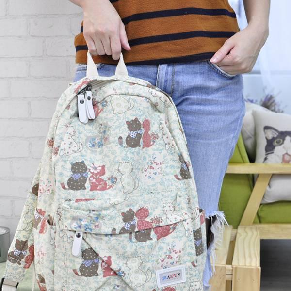 【花貓兒的後背包】背包