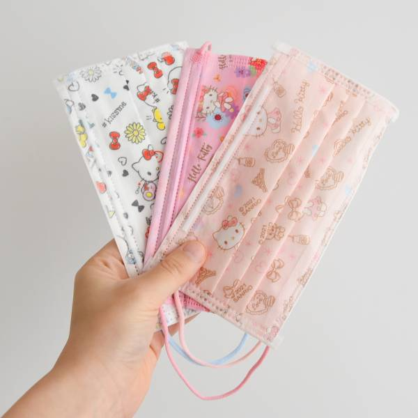 *現貨【kitty罩你安全出門】Hello Kitty 醫療級口罩 口罩,醫療口罩,hello kitty,三層防護,台灣製造