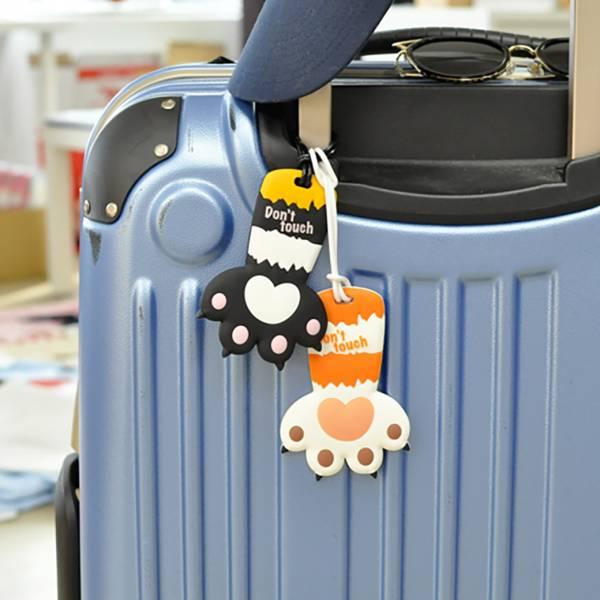 【貓掌遊世界】行李牌 貓掌行李牌、出國、行李牌