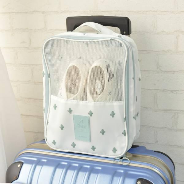 【出遊多帶幾雙鞋】旅行鞋子收納袋