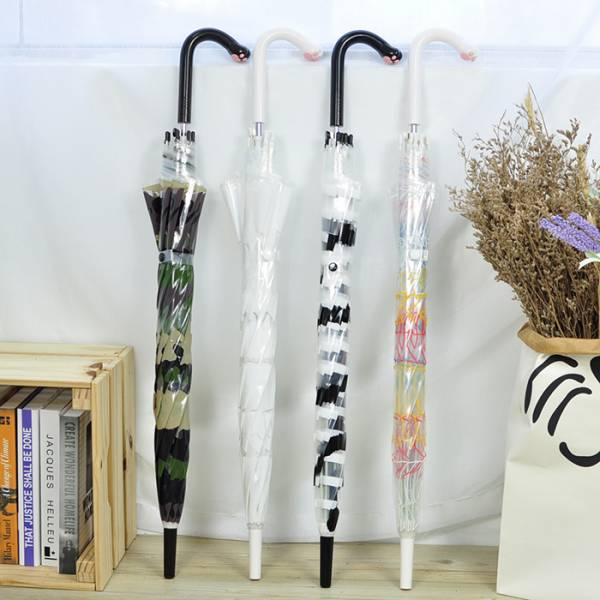 *日本進口【下雨天跟喵握爪】傘 日本貓傘,長傘,塑膠雨傘