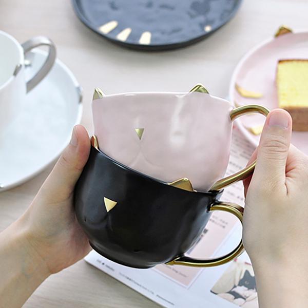 *只剩4個【貓兒陪你喝下午茶】貓咪杯盤組 貓馬克杯、下午茶、杯盤組