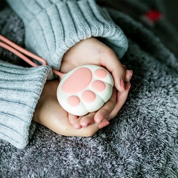 *滿2200免費送【感恩媽咪貓貓來報恩】暖手行動充電器 暖手寶,暖手神器,貓掌暖手