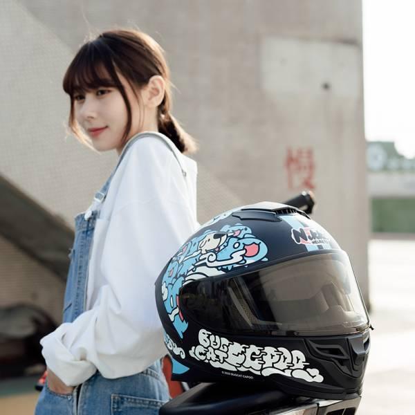 【騎車也能萌翻天】咖波聯名安全帽