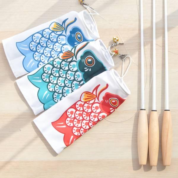【貓貓抓鯉魚】鯉魚旗逗貓棒