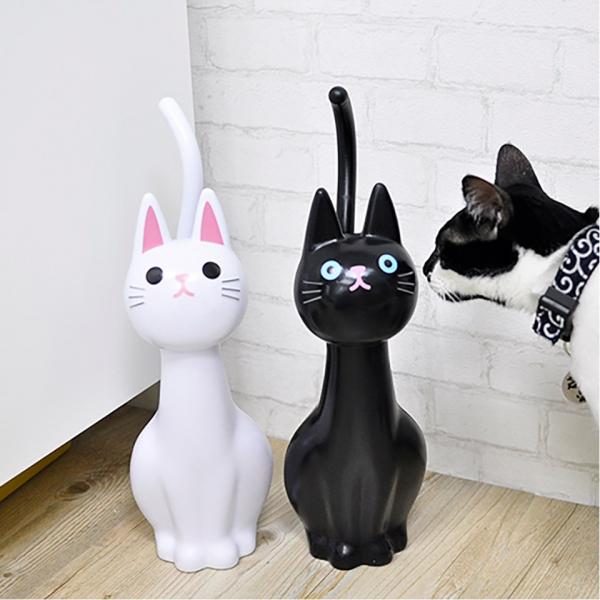 *日本進口【刷馬桶交給喵】貓咪馬桶刷 馬桶刷,貓造型,可愛實用