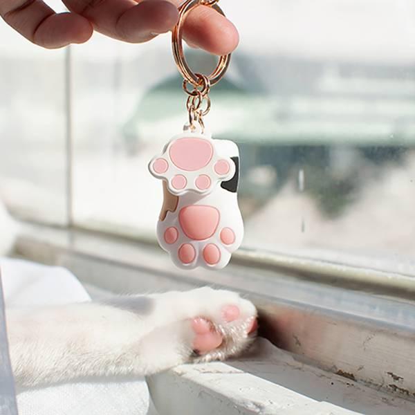 【當鑰匙跟喵掌在一起】貓掌鑰匙圈 肉球,鑰匙扣,肉球鑰匙扣