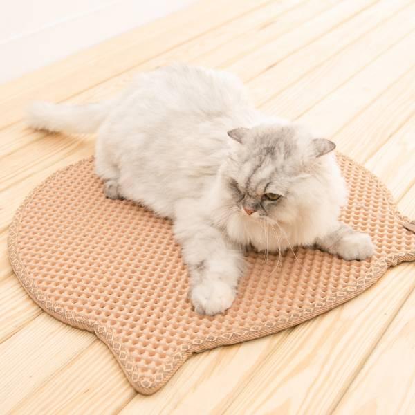 【落沙不怕髒兮兮】防落沙墊-貓頭 竉物用品