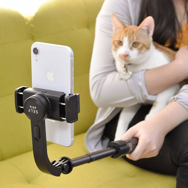 【SELFable 2.0】限量 貓奴自拍必備  迷你單軸穩定器自拍三腳架