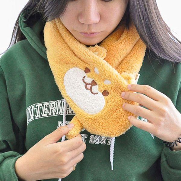 *【冬日軟萌女孩必備】動物圍脖 圍巾,圍脖,貓奴,主子,保暖,動物