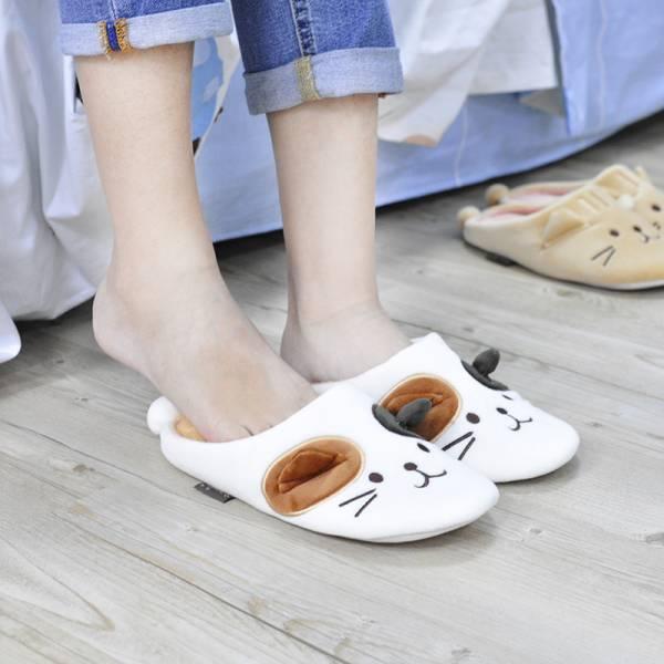 【暖腳就靠這隻貓】貓咪毛拖鞋