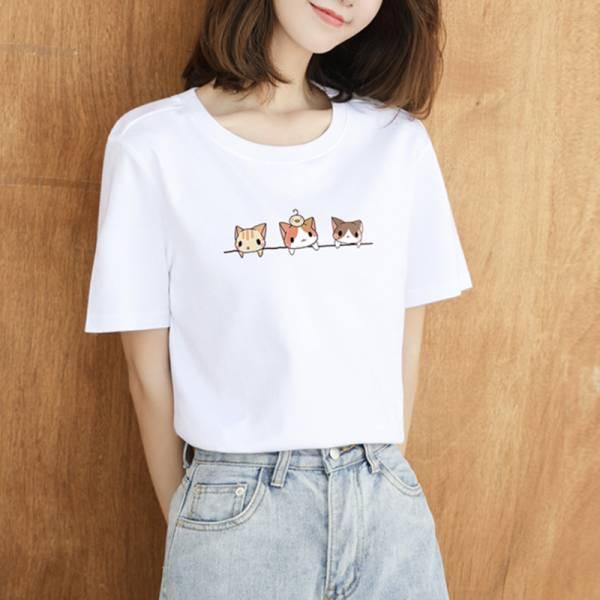 【貓就是正義】三隻貓短袖T恤