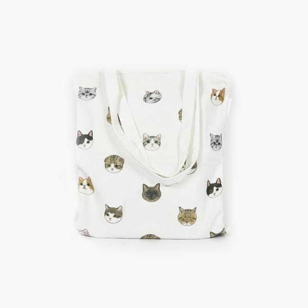 【萌貓兒共和國】側背袋 貓貓頭、小貓頭、貓頭側背包