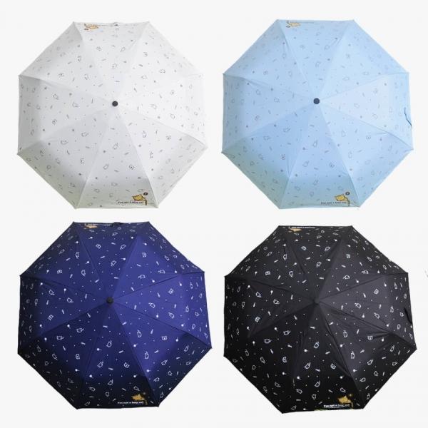 *【雨來了貓也躲進來了】雨傘 貓雨傘、梅雨季、下雨、防水