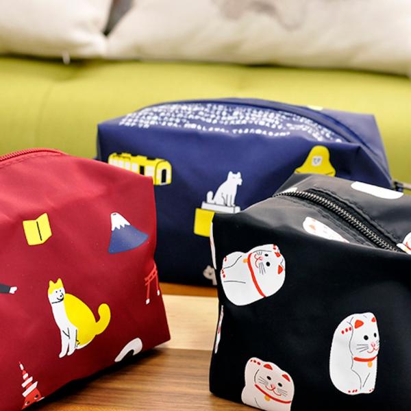 *【喵喵的百寶袋】漱洗包 化妝收納包 日本收納袋、收納包、簌洗包
