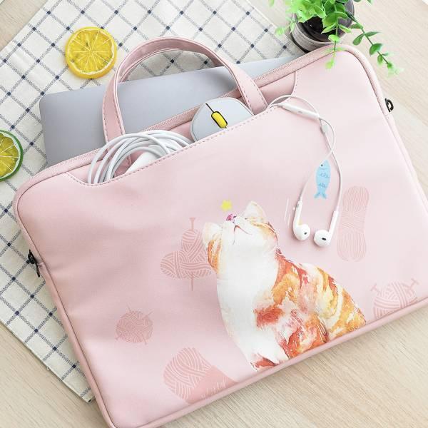 【保護筆電的喵喵們】筆記型電腦袋
