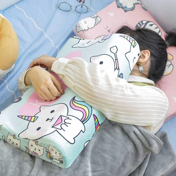 【從此一覺到天明】記憶枕 記憶枕頭、貓咪記憶枕頭、柔軟枕頭