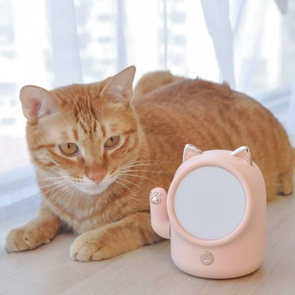 【貓貓對你招手手】招財貓夜燈