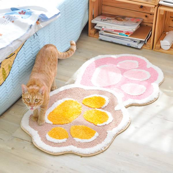 【貓掌吸水水】可愛貓咪肉球腳踏墊