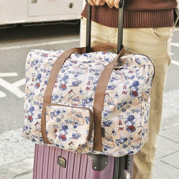 【伸縮自如袋著走】達洋旅行袋 達洋貓,旅行袋,好收納,方便