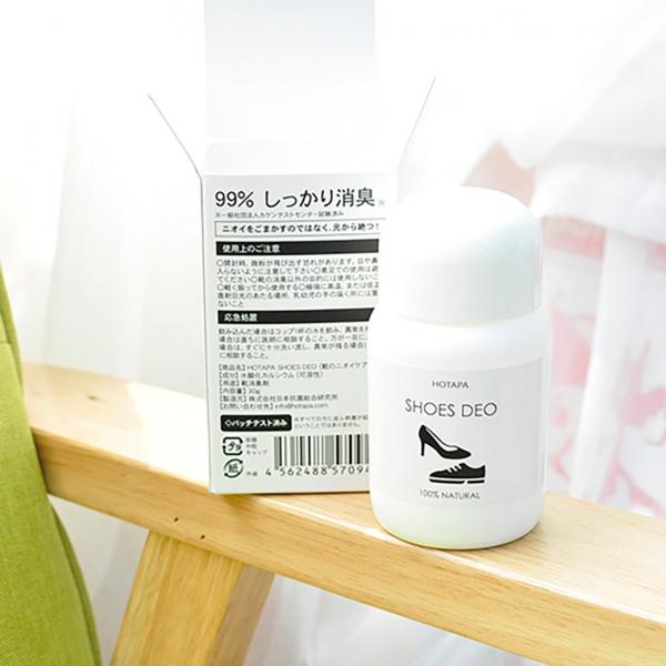 【從此腳香香】日本 HOTAPA SHOES DEO天然鞋子除臭粉