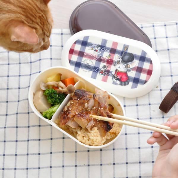 【用貓裝便當】限量 達洋貓便當盒
