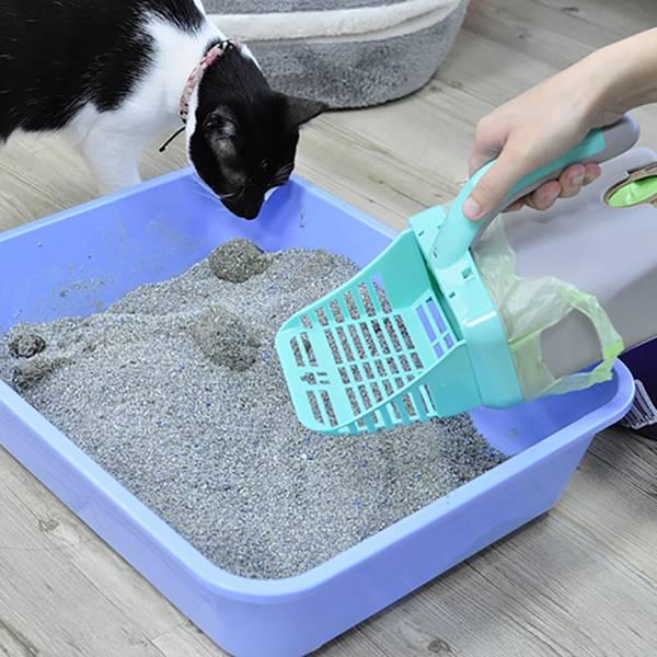 【叫我鏟屎官達人】日本貓鏟+3包環保垃圾袋