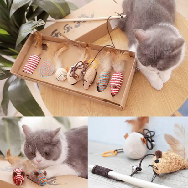 【貓大大為之瘋狂】貓玩具組 貓玩具,竉物用品