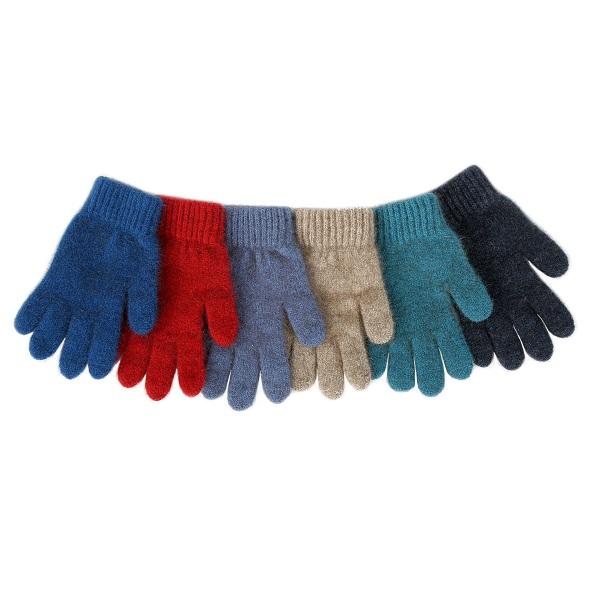 兒童保暖手套紐西蘭貂毛羊毛手套亮藍(潟湖藍) 保暖,保暖手套,羊毛手套,保暖手套,兒童 保暖 手套,